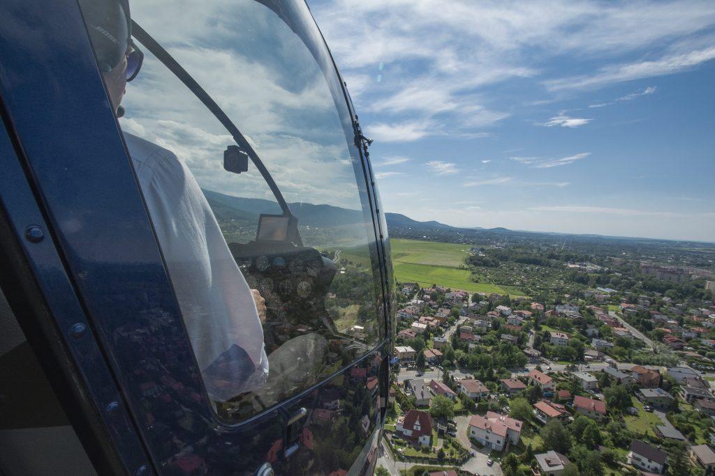 Loty zapoznawcze helikopterem