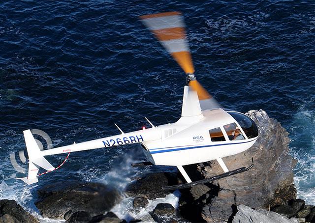 Sprzedaż helikopterów Robinson R 66 turbinowy morski
