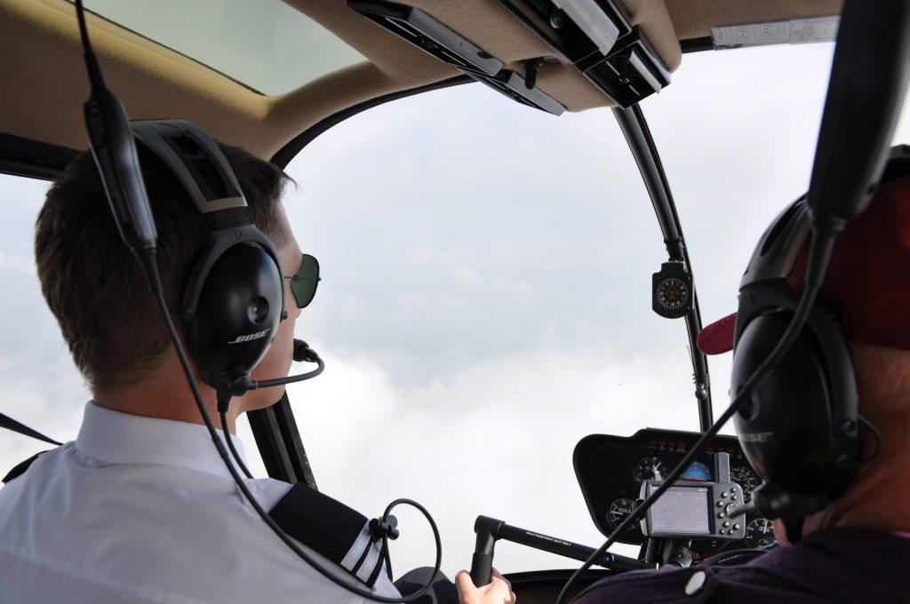 Szkolenia pilotów śmigłowce