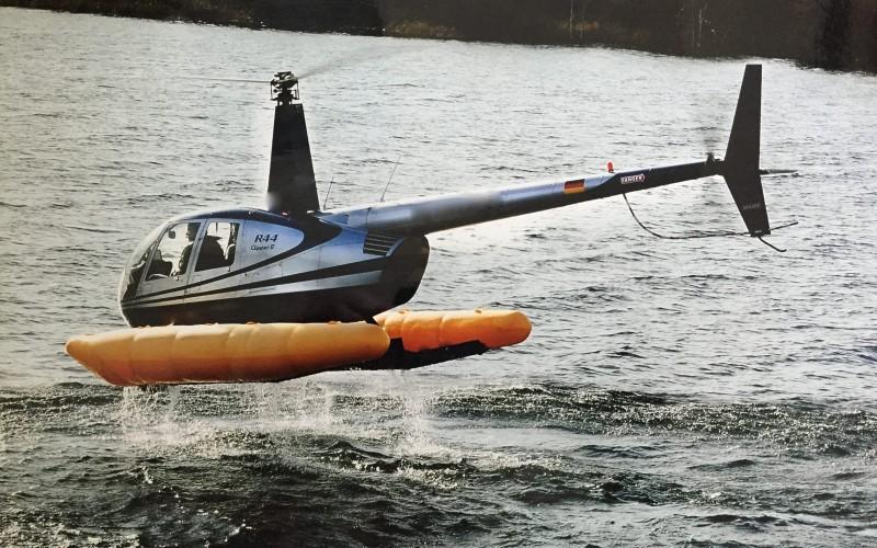 Sprzedaż helikopterów Robinson R 44 clipper