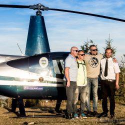 Wycieczka helikopterem na Skrzyczne z Rafałem Sonikiem