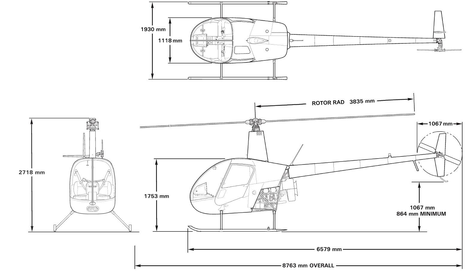 Sprzedaż helikopterów Robinson R 22