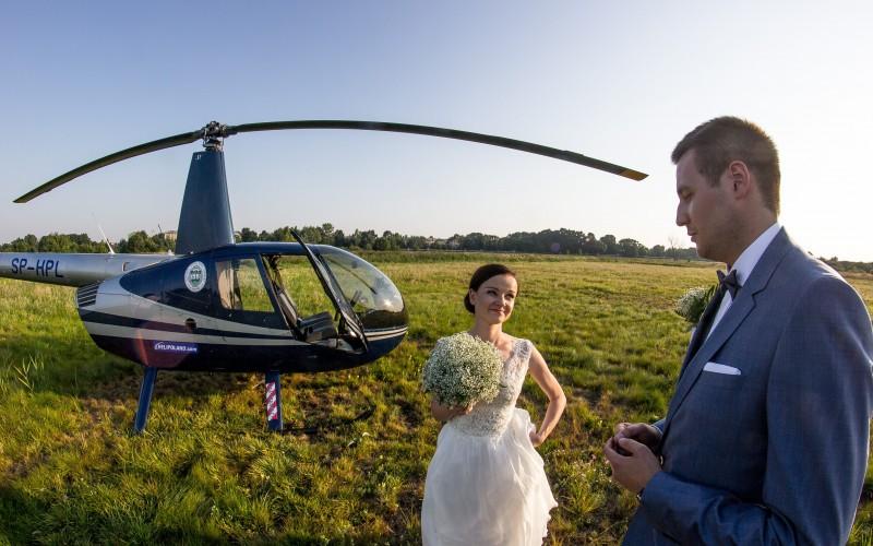 Wesele / ślub helikopterem
