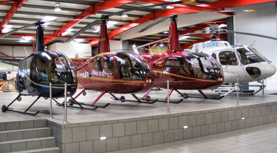 Sprzedaż Helikoptery Robinson