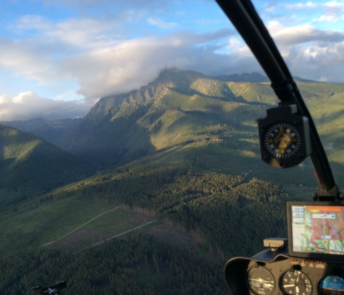Filmy z helikoptera