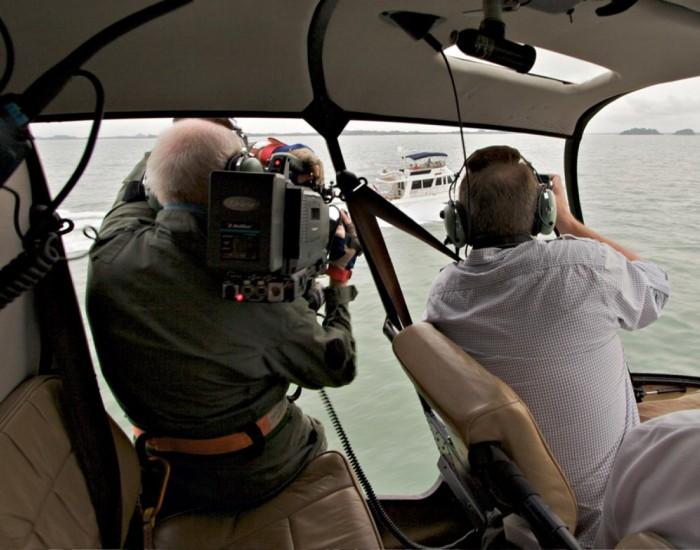 Filmy i zdjęcia ze helikoptera