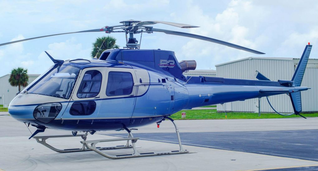 Helipoland Charter AS 350