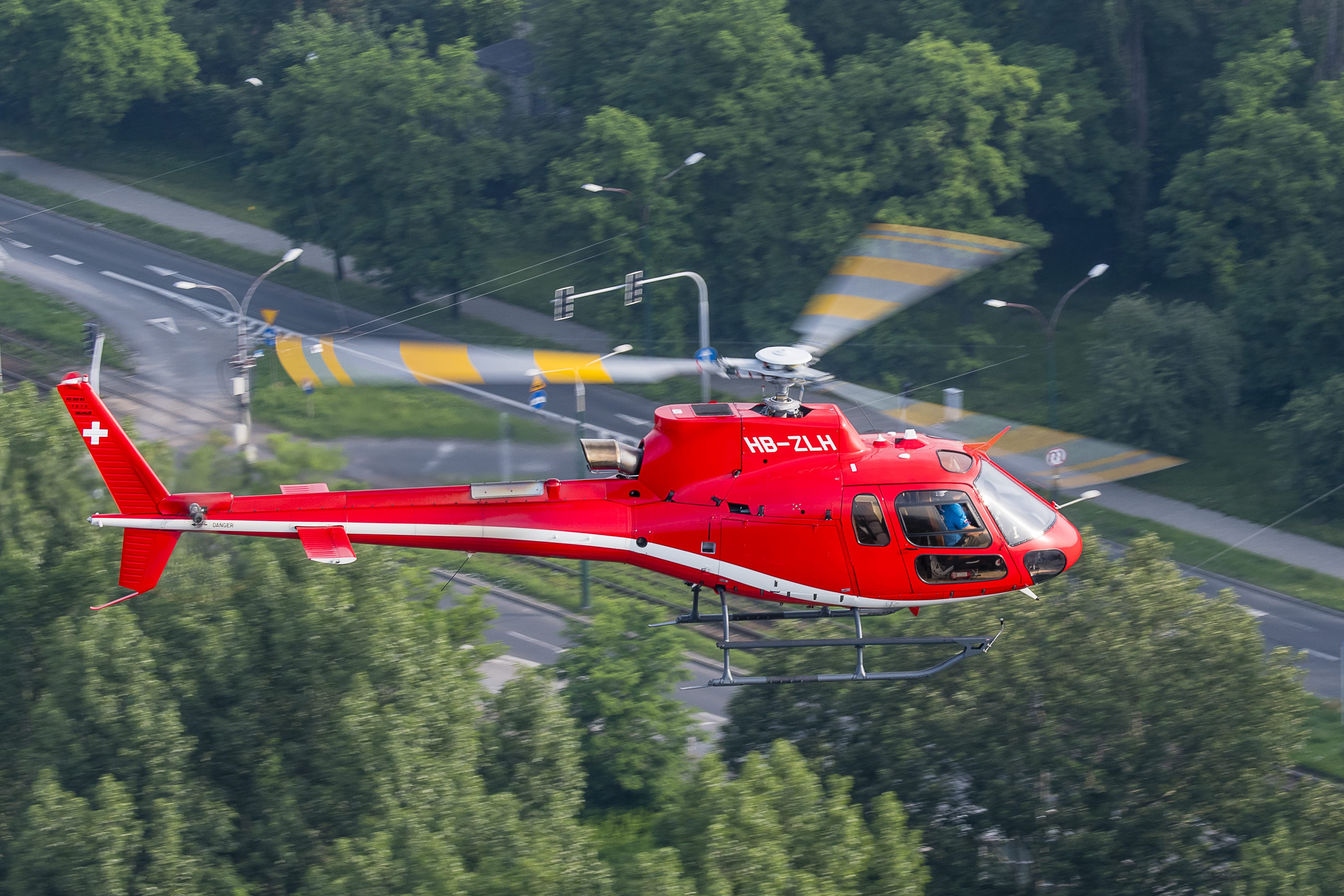 Przelot helikopterem Helipoland