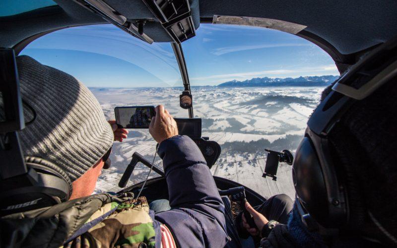 Filmowanie i zdjęcia z helikoptera