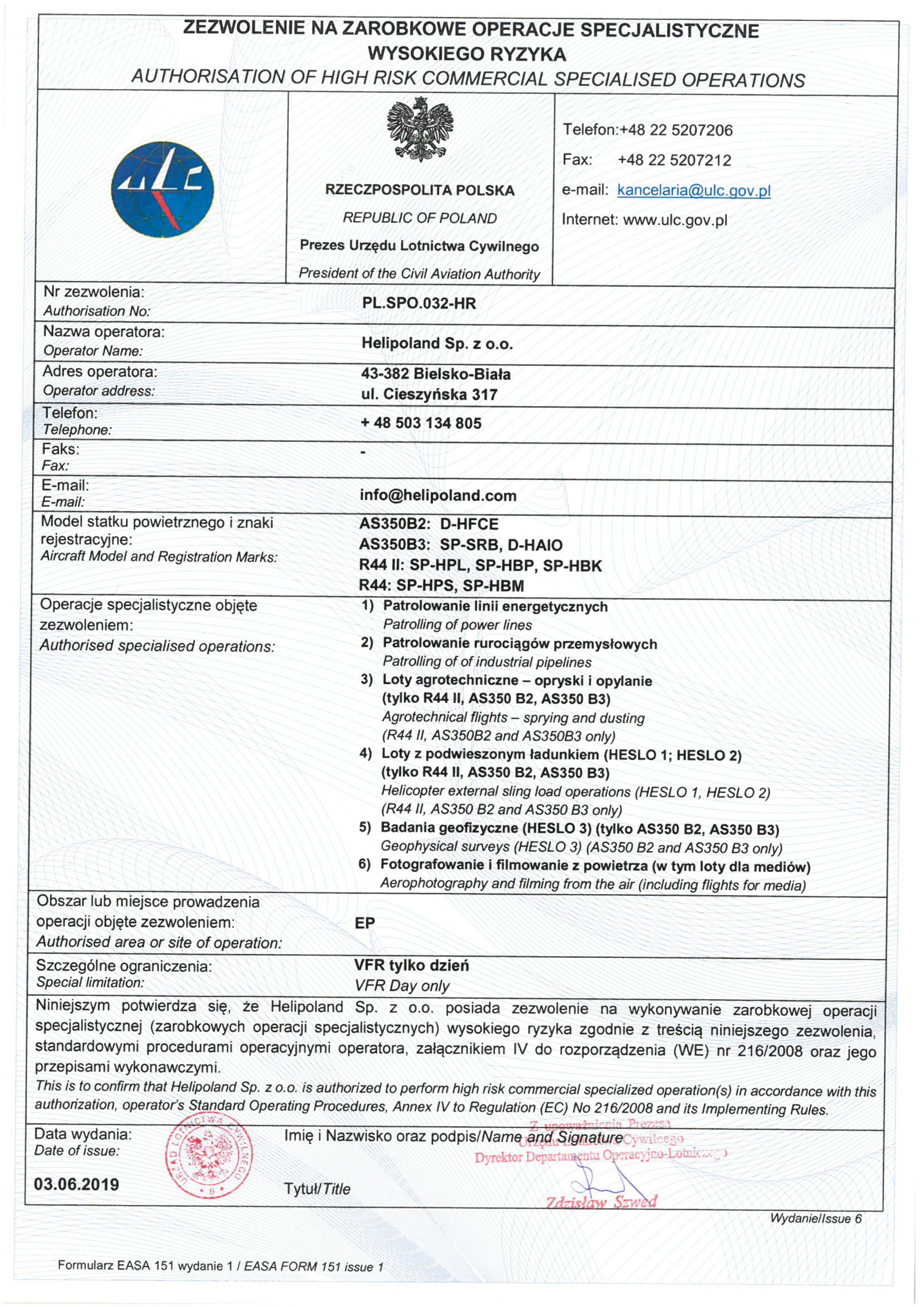 Helipoland PL.SPO.032-HR