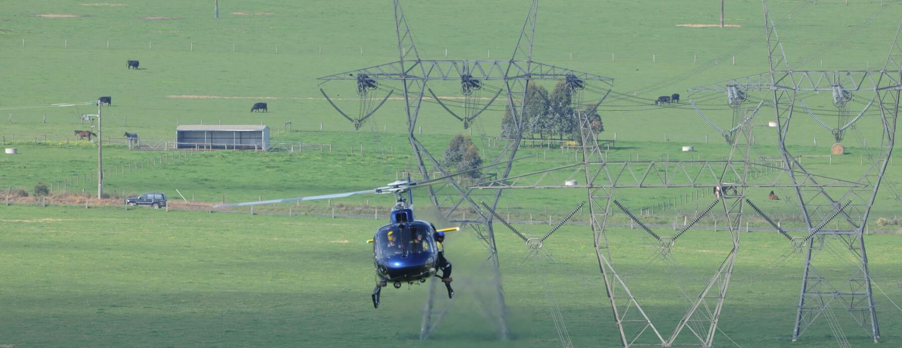 Helipoland patrolowanie/inspekcje linii energetycznych i rurociągów