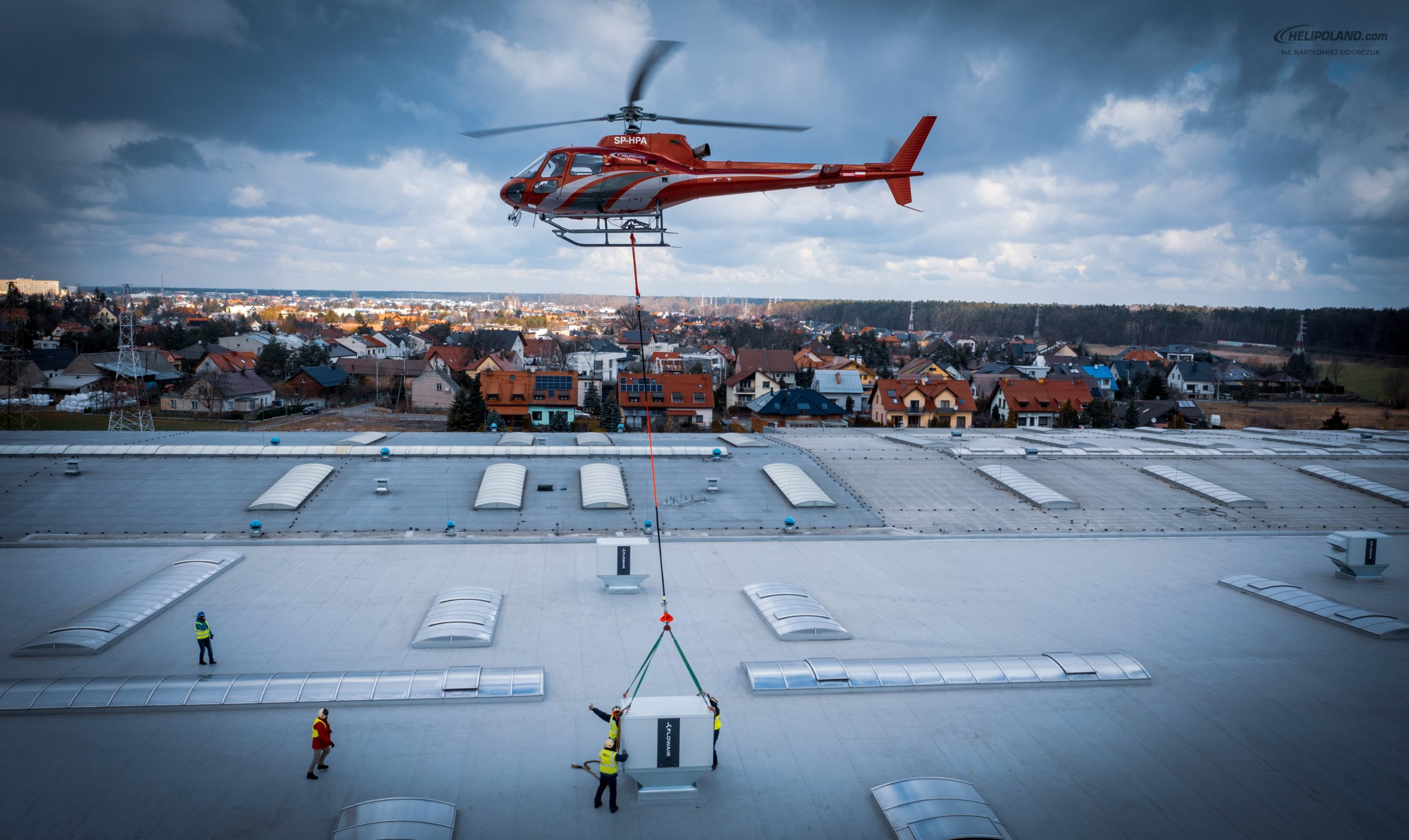 Helipoland Aerial works Sling Load Operations